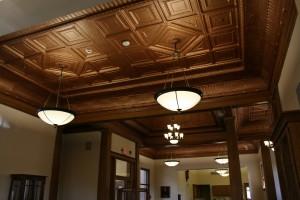 metallic Tin ceilings, how I love thee!