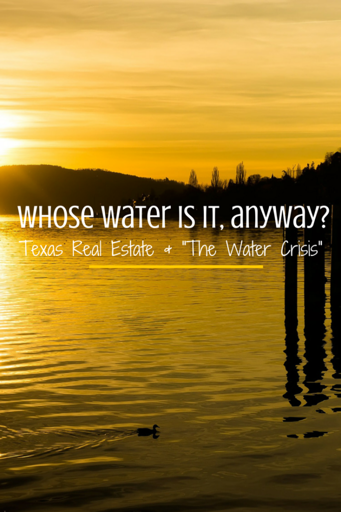 Whose Water Is It Anyway_Texas Water Rights