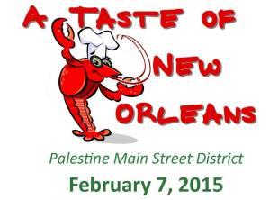 A Taste of New Orleans in Palestine Tx