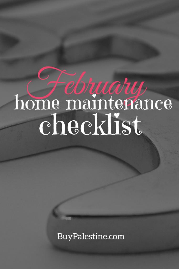 February real estate maintenance palestine tx