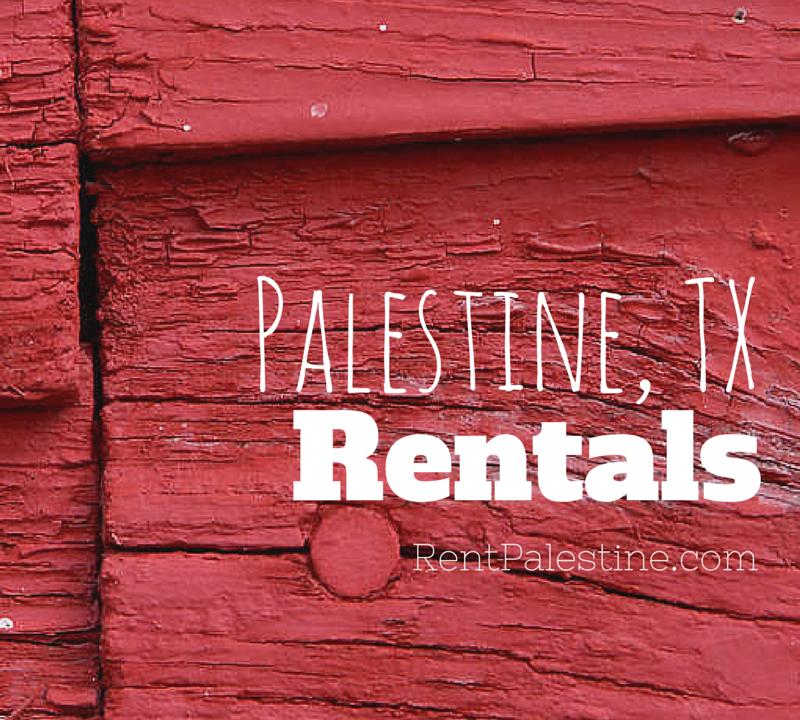 This Week's Palestine Rentals – My Openings as of May 6, 2015
