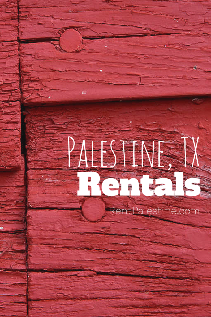 Palestine Rentals – My Openings as of May 6, 2015