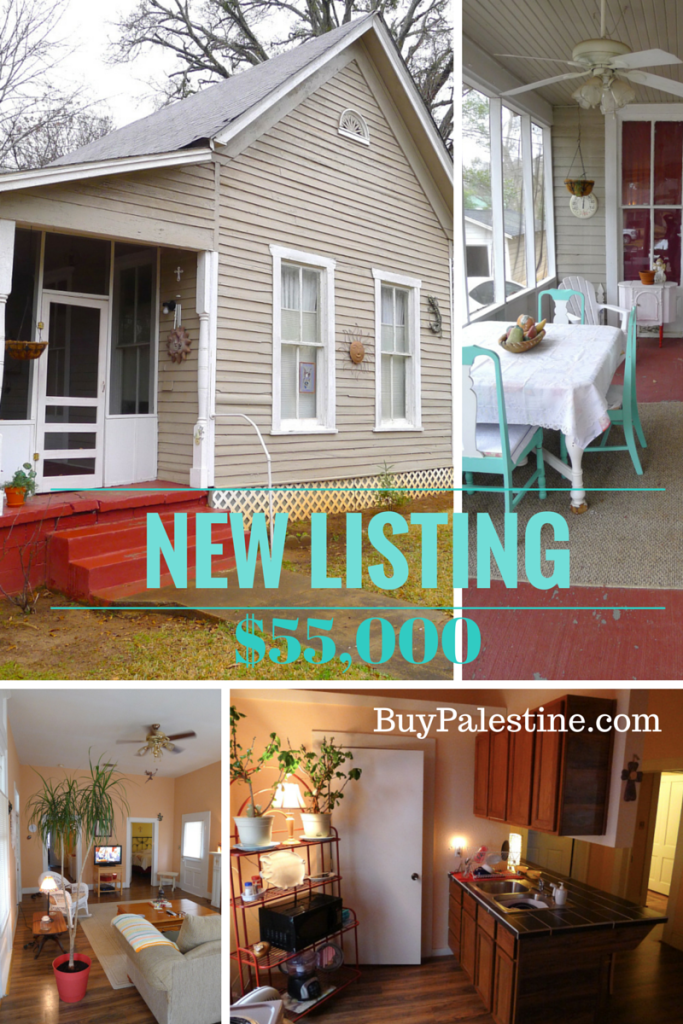 NEW LISTING cheap house for sale in palestine tx