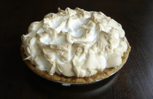 Mmm...any excuse to eat pie!