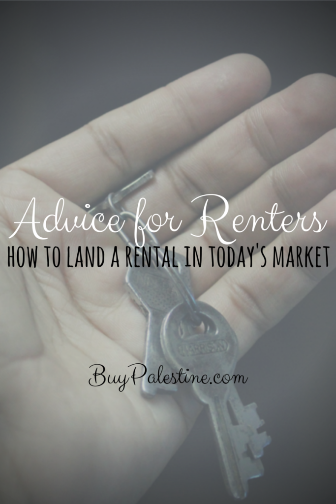 Advice for renters- how to land a rental in today's real estate market