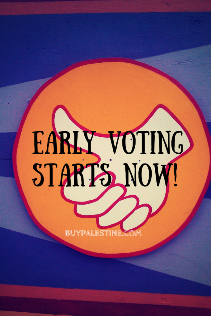 Early Voting Begins Today - Palestine TX Area Information