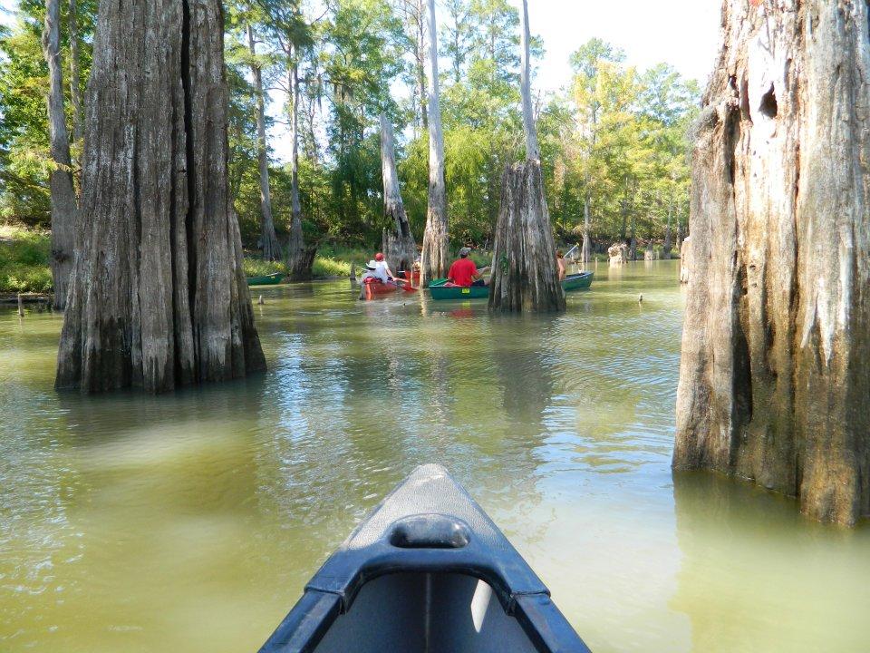 Canoe the Neches! Photo Via Trinity University