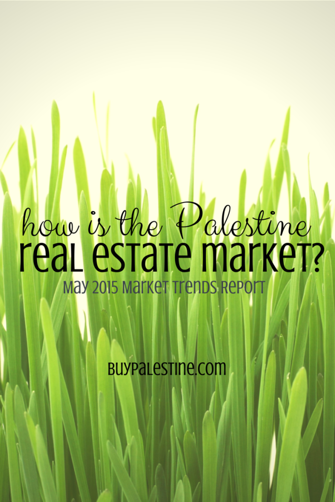 Palestine TX Real Estate Market Trends Report – May 2015