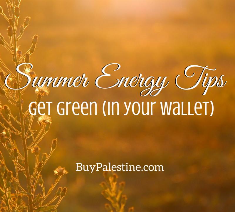 Summer Energy Tips: Get Green (in your wallet)