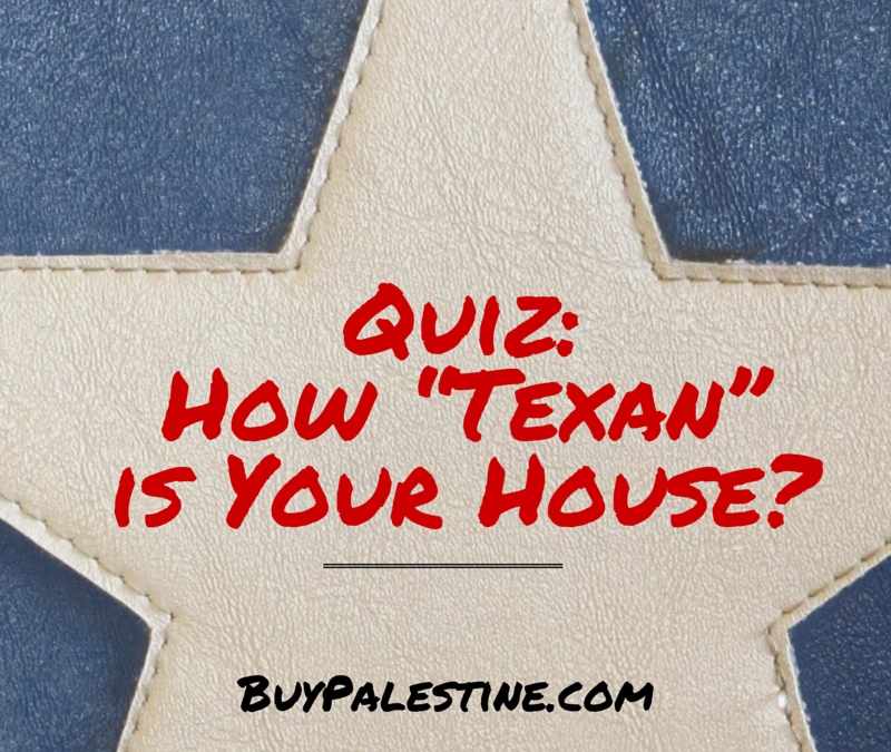 "Quiz: How ""Texan"" is Your House?"
