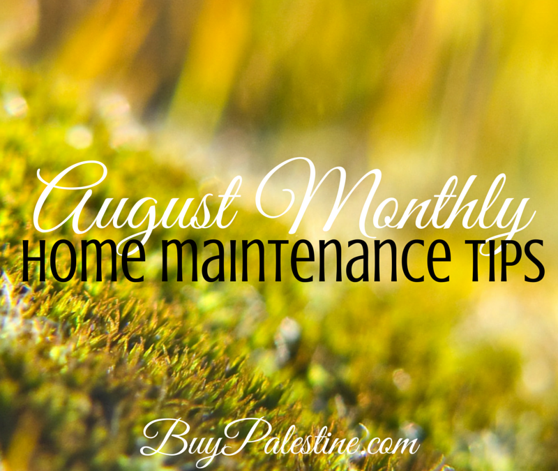 august monthly home maintenance for your east texas home
