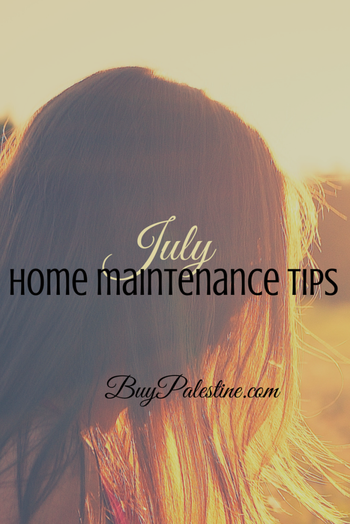 july home maintenace tips for your east texas home