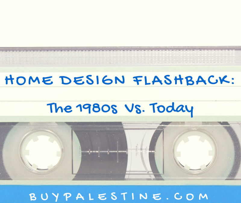 Home Design Flashback: The 1980s vs. Today