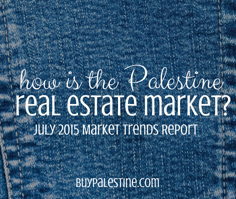 how is the palestine tx real estate market 2015