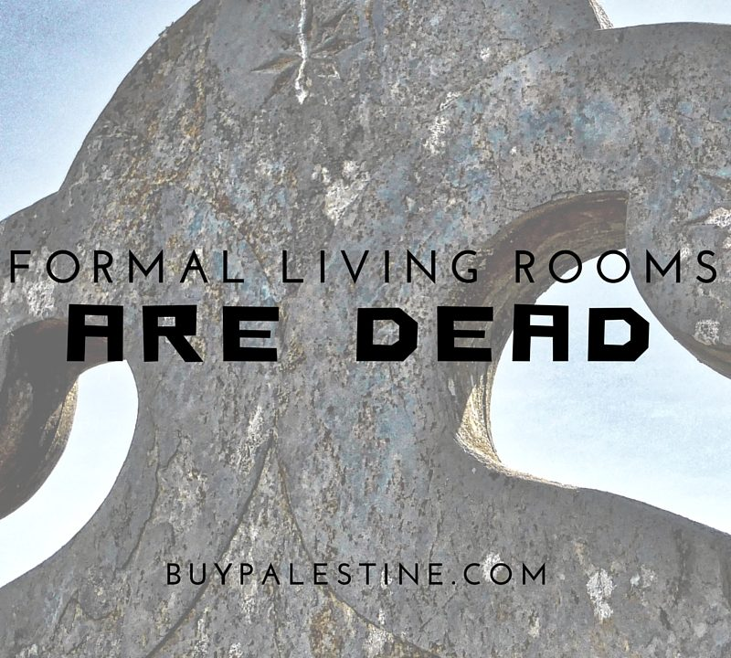 Formal Living Rooms Are Dead