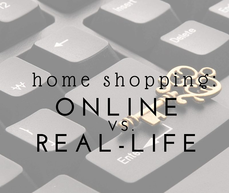 Home Shopping Online Vs. Real-Life