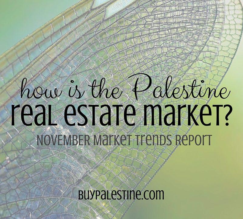 Palestine Real Estate Market Report– November 2015