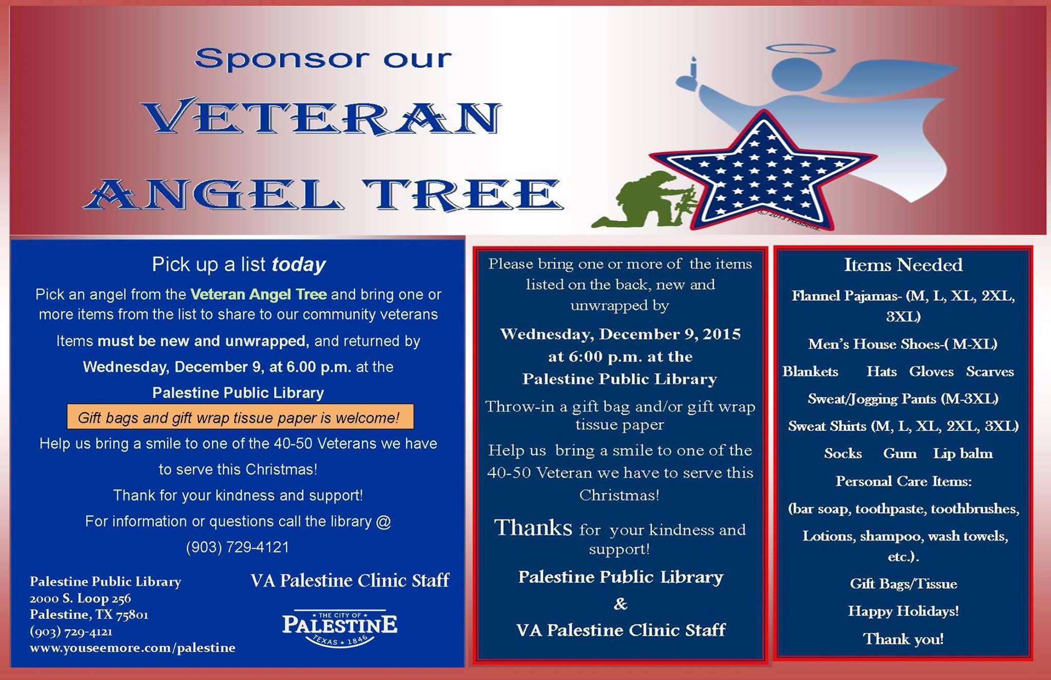 palestine tx veterans angel tree