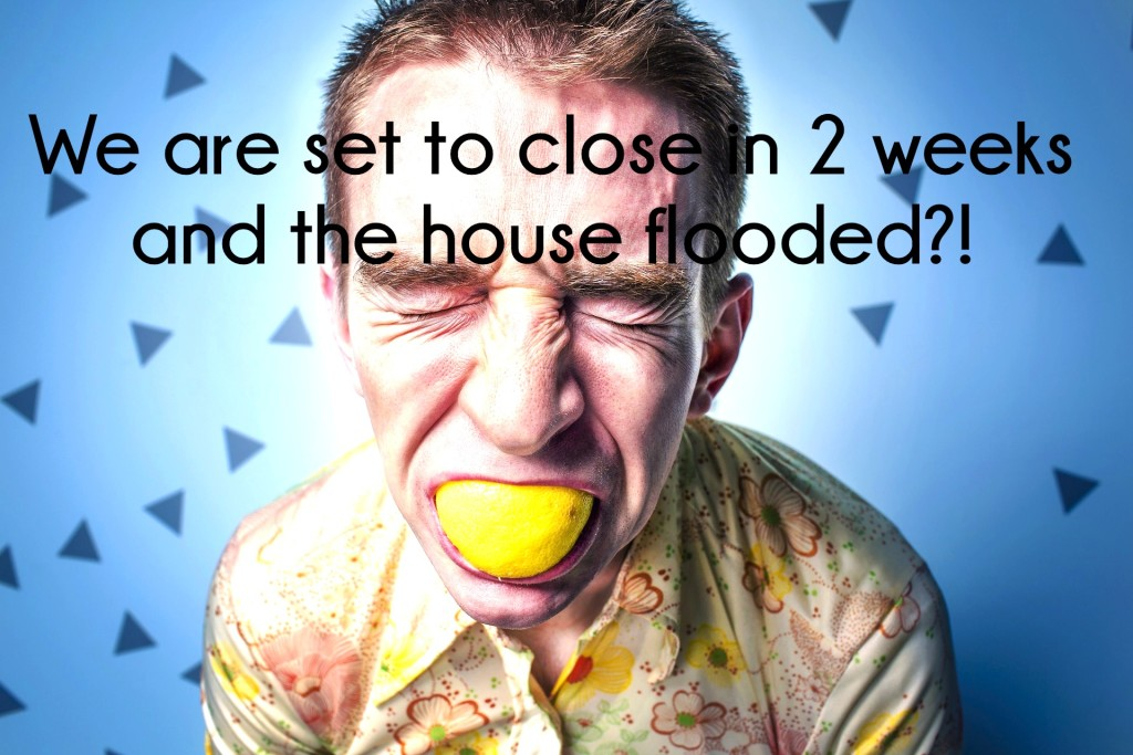 Disaster During a Contract- Property Damage Before Closing and How to Stay Sane emotions real estate