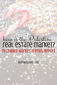 Palestine TX Real Estate Market Report– December 2015