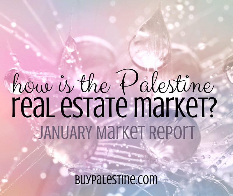 Palestine Real Estate Market Report– January 2016