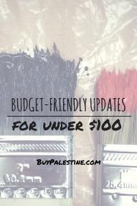 Budget-Friendly Home Updates Under $100