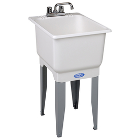 Easy solution...These are $99 at Lowes! (other sizes and styles available also. There is one without a faucet for $25 too!) Via Lowes.com