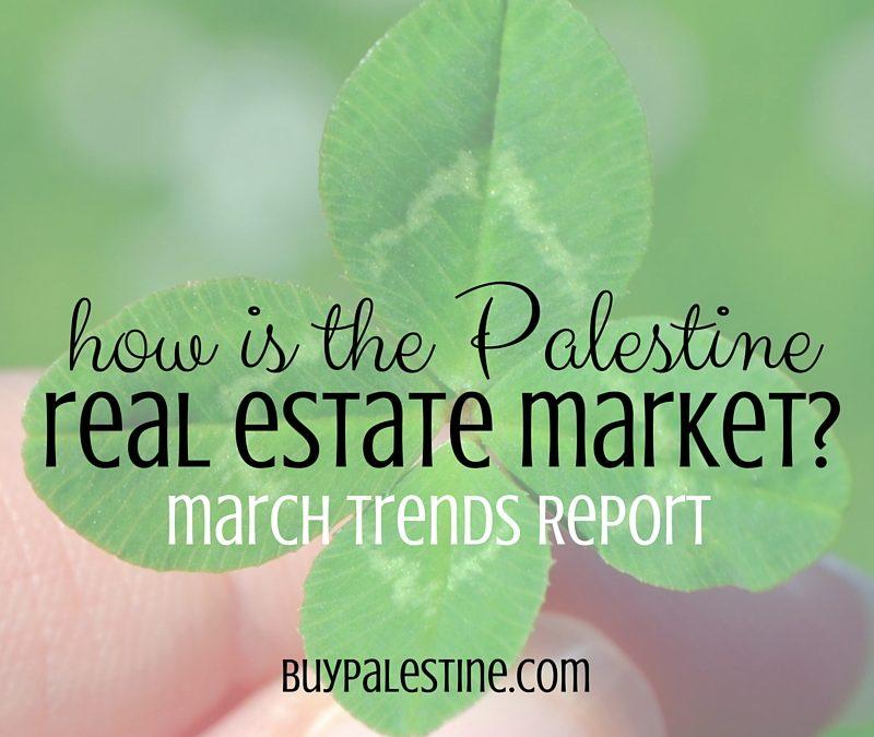 Palestine tx Real Estate Market Report– March 2016 1