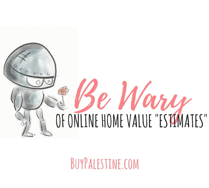 """Be Wary of Online Home Value """"Estimates"""""""