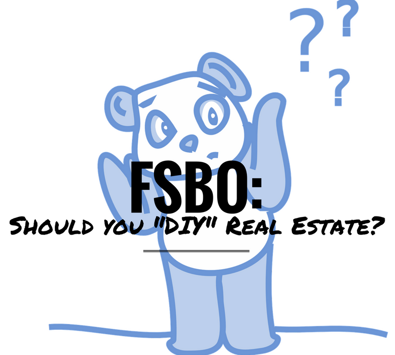 "FSBO: Should You ""DIY"" Real Estate?"