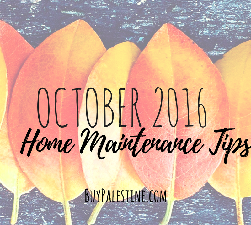 October Maintenance Tips for your Palestine TX House
