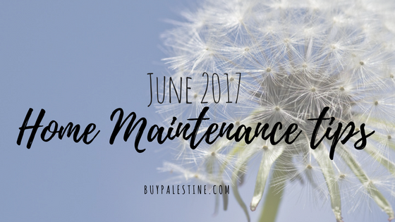 June Home Maintenance Tips for your East Texas Home
