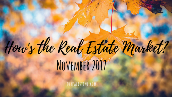 How's the Real Estate Market? – November 2017 Market Report