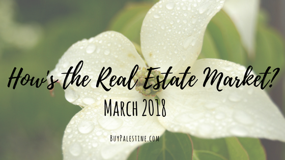 How's the Real Estate Market? – March 2018 Report