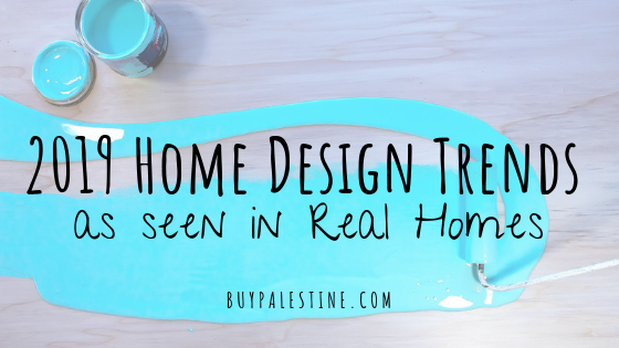 2019 home design trends for East Texas Homes
